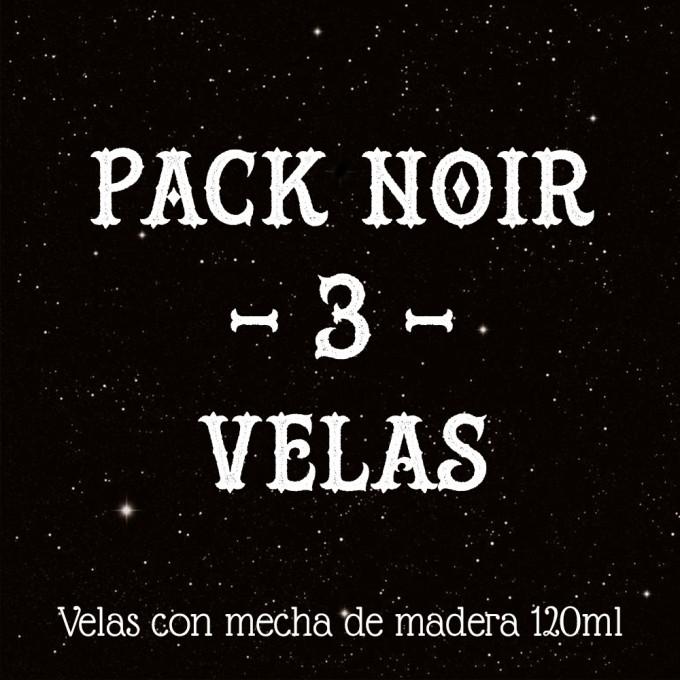 3 VELAS NOIR