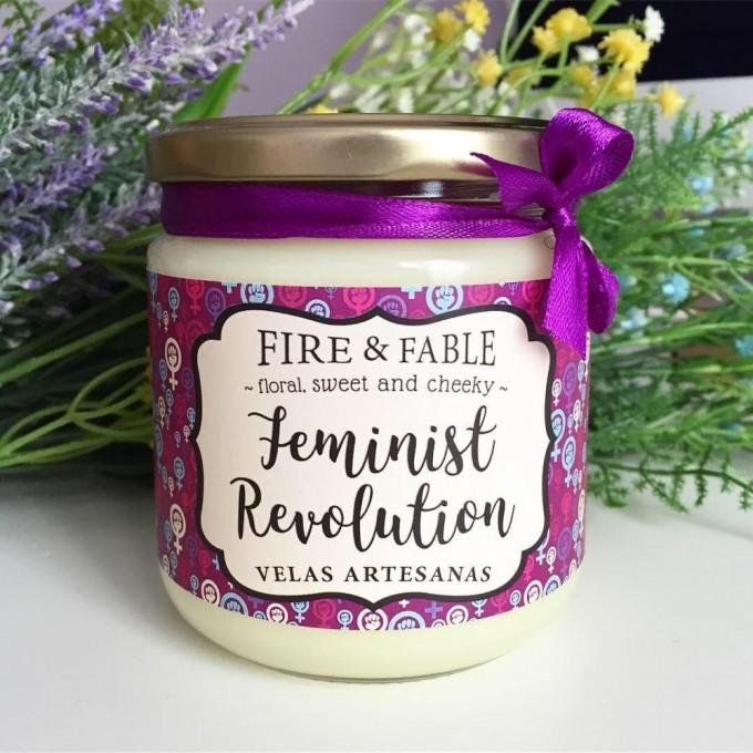 CANDLE FEMINIST REVOLUTION